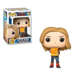 Marvel - Captain Marvel con Lunchbox Figura Pop! Vinyl