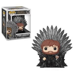 Game of Thrones Tyrion on Iron Throne Funko Pop! Deluxe