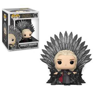 Game of Thrones Daenerys on Iron Throne Funko Pop! Deluxe