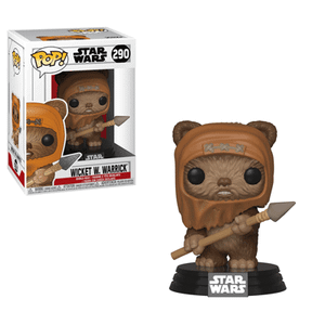 Star Wars - Wicket Figura Pop! Vinyl
