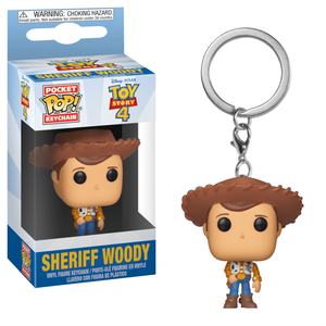 Toy Story 4 Woody Pop! Keychain