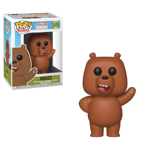 Siamo Solo Orsi (We Bare Bears) - Orso Grizzly LTF Figura Pop! Vinyl