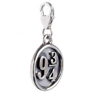 Harry Potter Sterling Silver Platform 9 3/4 Clip on Charm