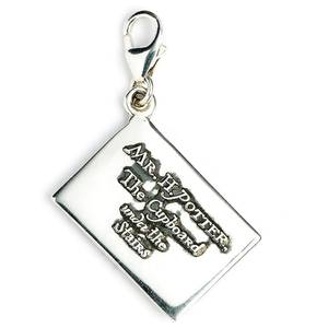 Harry Potter Sterling Silver Hogwarts Acceptance Letter Clip on Charm