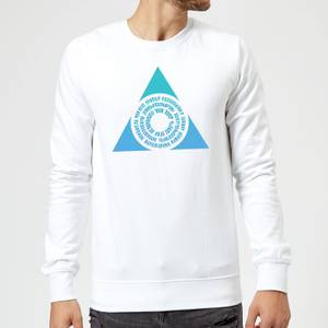 Sweat Homme Symbole de Azorius - Magic The Gathering - Blanc