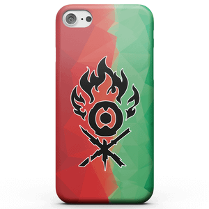 Magic The Gathering Gruul Fractal Phone Case for iPhone and Android