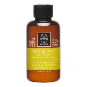 APIVITA Holistic Hair Care Mini Gentle Daily Shampoo delikatny szampon – German Chamomile & Honey 75 ml