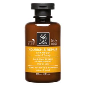 APIVITA Holistic Hair Care Nourish & Repair Shampoo - Olive & Honey 250ml