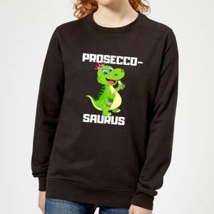 Be My Pretty Proseco-Saurus Women's Sweatshirt - Black