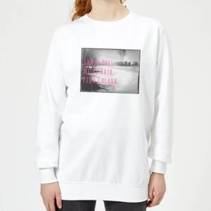 Be My Pretty Pina Colada Women's Sweatshirt - White