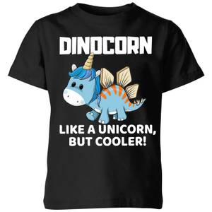 Big and Beautiful Dinocorn Kids' T-Shirt - Black
