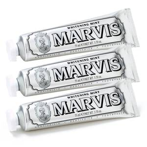 Marvis Whitening Mint Toothpaste Bundle (3x85ml)