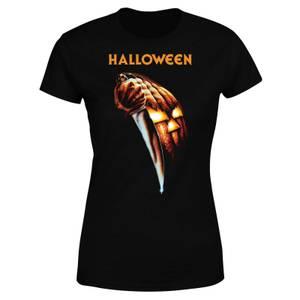 Halloween Pumpkin Women's T-Shirt - Black