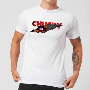 Chucky Tear Men's T-Shirt - White