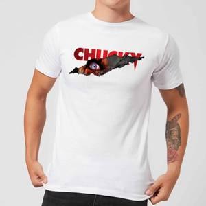 T-Shirt Homme Tear Chucky - Blanc