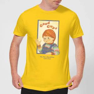 T-Shirt Homme Good Guys Retro Chucky - Jaune