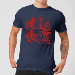 T-Shirt Homme Family Photo Chucky - Bleu Marine