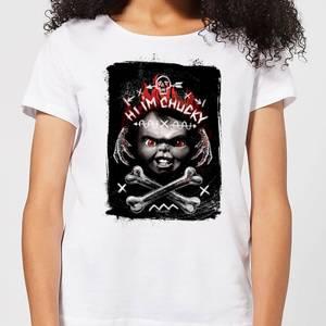 Chucky Hi I'm Chucky Women's T-Shirt - White