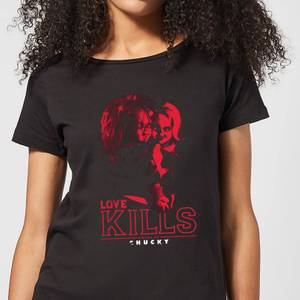 Chucky Love Kills Women's T-Shirt - Black