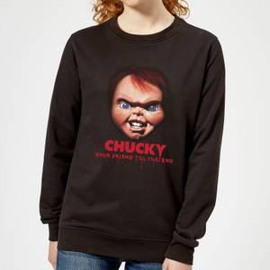 Chucky Friends Till The End Women's Sweatshirt - Black