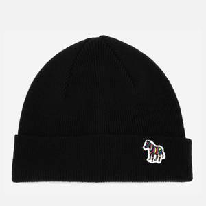 PS Paul Smith Men's Zebra Beanie - Black