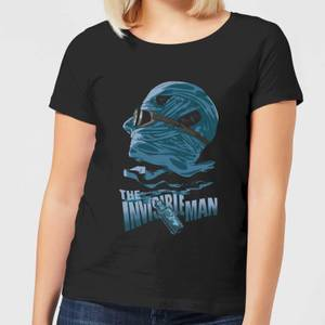 T-Shirt Femme L'Homme Invisible - Universal Monsters - Noir