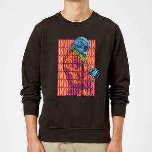 Universal Monsters Invisible Man Retro Sweatshirt - Black