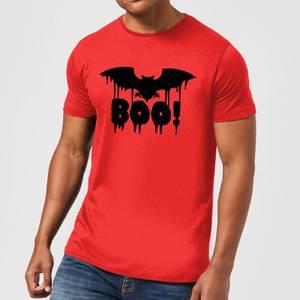 Boo Bat Men's T-Shirt - Red
