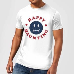Happy Haunting Fang Men's T-Shirt - White