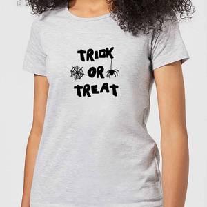Halloween Trick or Treat Women's T-Shirt - Grey