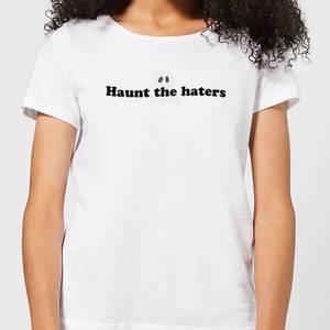 Halloween Haunt The Haters Women's T-Shirt - White