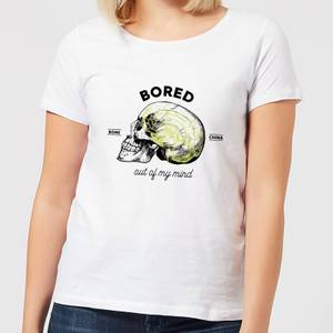Halloween Bored Out Of My Mind Women's T-Shirt - White