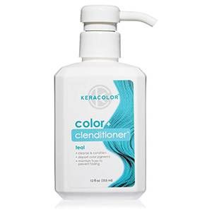 Keracolor Colour + Clenditioner - Teal 355ml