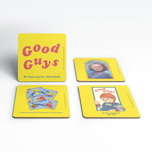 Chucky Good Guys Retro Coaster Set