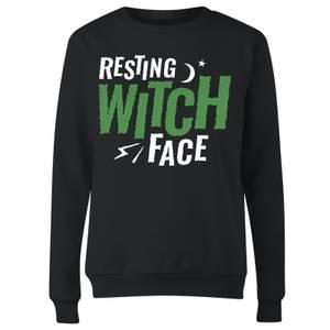 Resting Witch Face Women's Sweatshirt - Black