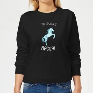 Unicorn Skeleton Women's Sweatshirt - Black