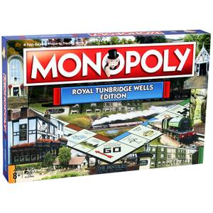 Monopoly Board Game - Tunbridge Wells Edition