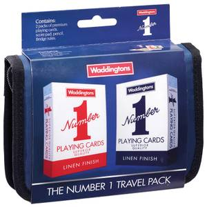 Waddingtons Number 1 Playing Cards - Bridge Travel Set Edition