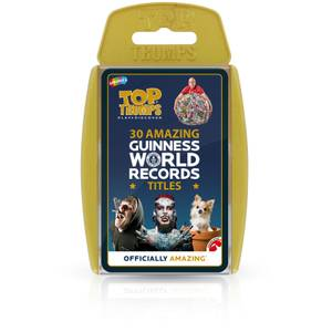 Top Trumps Card Game - Guinness World Records Edition