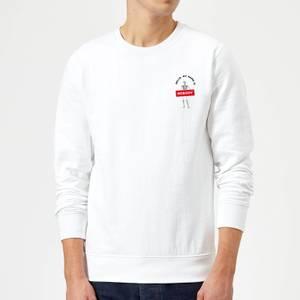 Hello, My Name Is Nobody Sweatshirt - White