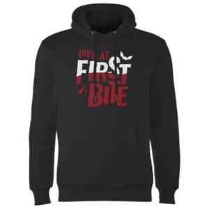 Love At First Bite Hoodie - Black