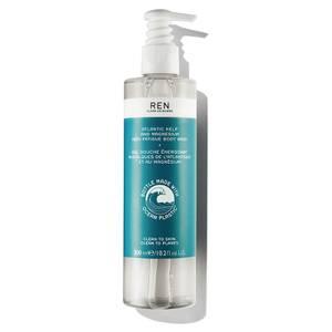 REN Atlantic Kelp and Magnesium Anti-Fatigue Body Wash żel do mycia ciała 300 ml w opakowaniu z plastiku z recyclingu
