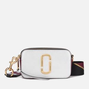 Marc Jacobs Women's Snapshot Cross Body Bag - Silver Multi
