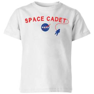 NASA Space Cadets Space Walk Kids' T-Shirt - White