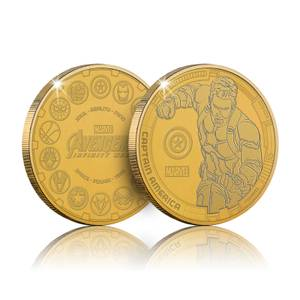 Collectible Marvel Infinity War Commemorative Coin: Captain America - Zavvi Exclusive (Limited to 1000)