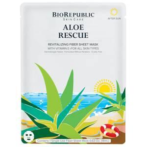 BioRepublic SkinCare Aloe Rescue Revitalizing Sheet Mask