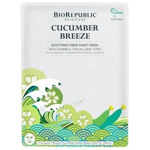 BioRepublic SkinCare Cucumber Breeze Soothing Sheet Mask