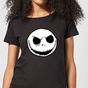 Nightmare Before Christmas Jack Skellington Women's T-Shirt - Black