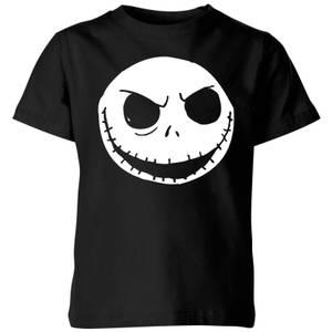The Nightmare Before Christmas Jack Skellington Kids' T-Shirt - Black