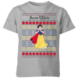 T-Shirt de Noël Homme Classiques Disney Blanche-Neige - Gris